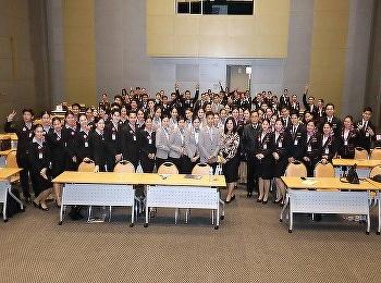 Airline Business students SSRUIC Joined the Thai Airways International Internship orientation