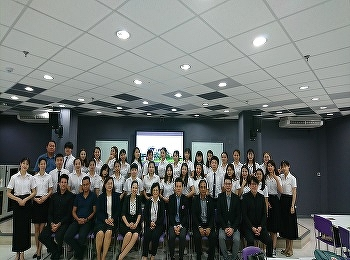 International College, Suan Sunandha Rajabhat University awarded the certificates for the Chinese Students from GUAT