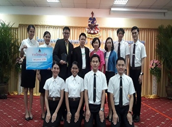 Airline Business students, International College, Suan Sunandha Rajabhat University awarded the 1st Prize and 3rd Complimentary awards for Thai Manner Contest at Ramkhamhaeng University