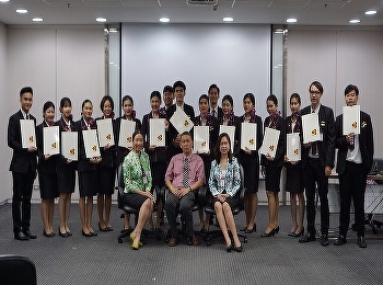 The Airline Business, SSRUIC finished from Thai Airways International Internship 2019