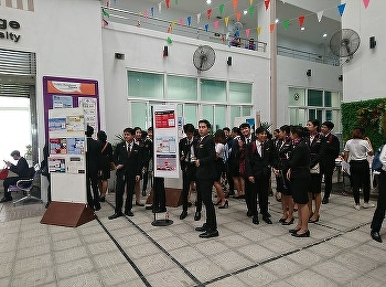Airline Business, Suan Sunandha Rajabhat University presenting the students' researches in Aviation Week 2019