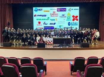 Airline Business students, Suan Sunandha Rajabhat University with their Internship Presentation 2019