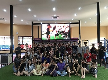 International College, Suan Sunandha Rajabhat University cooperated with NongNooch Garden set the fieldtrip for the Chinese students