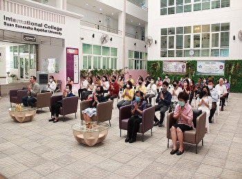 Airline Business lecturers of International College, Suan Sunandha Rajabhat University joined the anniversary of SSRUIC