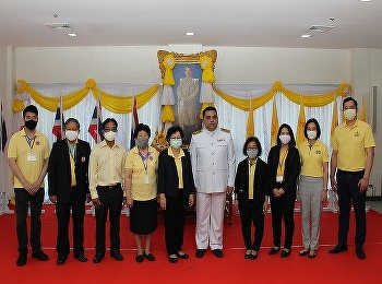 International College, Suan Sunandha Rajabhat University joined the Respecting Ceremony of King's Birthday