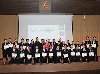 International College, Suan Sunandha Rajabhat University  celebrated for SSRUIC Airline Business students on TPQI achievements