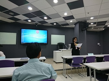 Airline Business Department joined the Knowledge Management Meeting